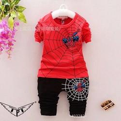 Bộ dài tay in người nhện cá tính cho bé trai 9-14 tuổi NX1063