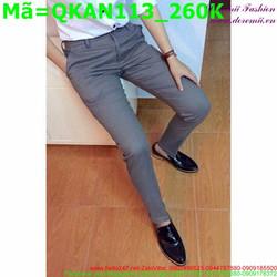 Quần kaki nam đơn giản phong cách thanh lịch QKAN113