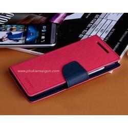 Bao da Iphone 5,5s hiệu Goospery Diary cao cấp