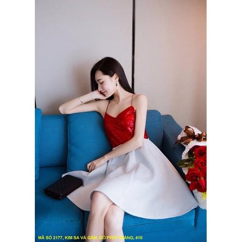 Đầm Dây Xòe Xinh Xắn
