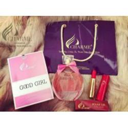 Nước hoa Charme Gool Girl chính hãng lưu hương cả ngày +1 son