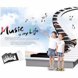 Đàn piano điện tử cho bé loại uốn dẻo