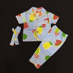 Chuyên sỉ pijama trái cây kate