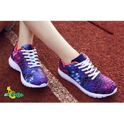 Giày thể thao thời trang lưới màu