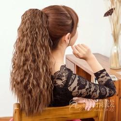 Tóc giả nữ Hàn Quốc - màu nâu sáng -8076A