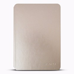 Bao da Samsung Galaxy Tab S3 9.7 Kaku vàng nhạt