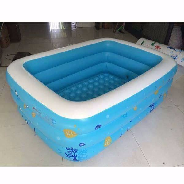 Kết quả hình ảnh cho bể phao bơi 150x110x50cm