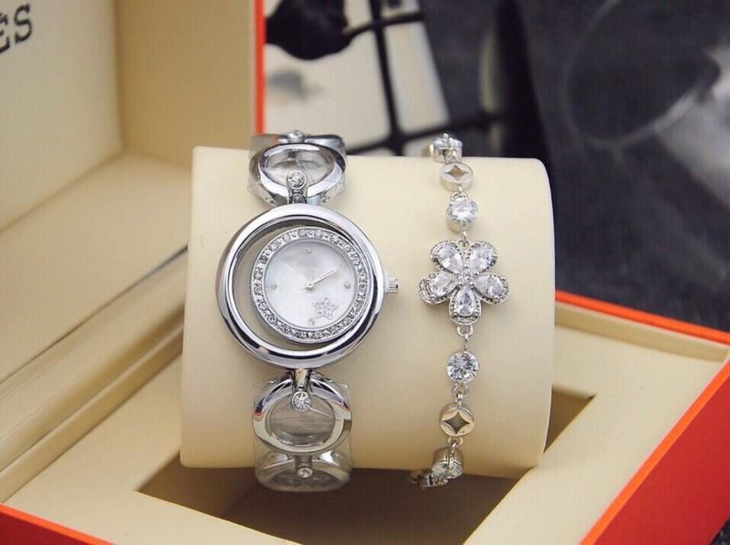 đồng hồ thời trang nữ kèm lắc 1