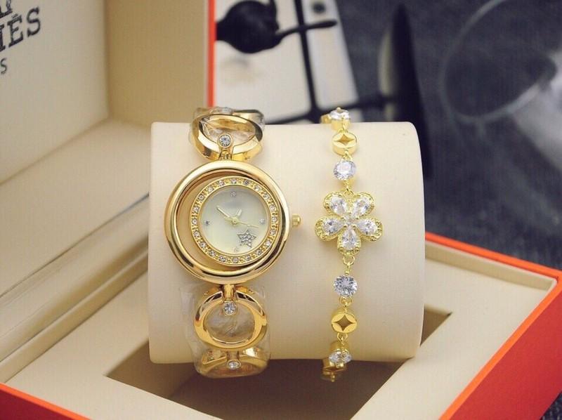 đồng hồ thời trang nữ kèm lắc 4