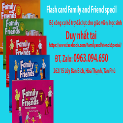 Flash card Family and friend specil edition