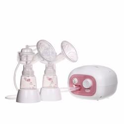 Máy hút sữa điện đôi Unimom Forte có matxa silicone UM880038