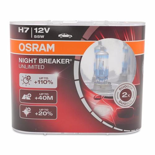 Bộ 2 bóng đèn ô tô Osram H7 Night Breaker Unlimited - 5766030 , 9773769 , 15_9773769 , 650000 , Bo-2-bong-den-o-to-Osram-H7-Night-Breaker-Unlimited-15_9773769 , sendo.vn , Bộ 2 bóng đèn ô tô Osram H7 Night Breaker Unlimited