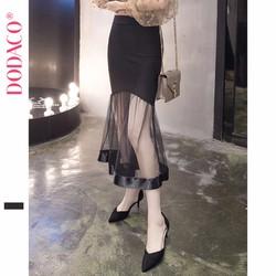 Váy Xòe Đuôi Cá  Lưới Thời Trang Hàn Quốc