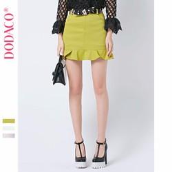 Chân Váy Ngắn Hàn Quốc Tặng Dây Lưng Thời Trang DODACO