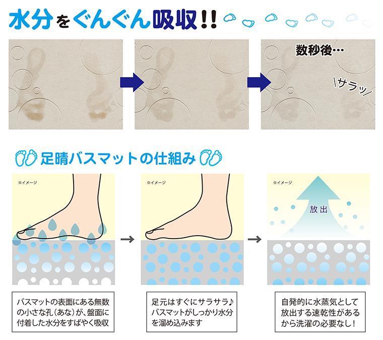 Thảm cứng siêu thấm Nhật Bản 5