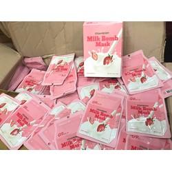 Mặt Nạ Sữa Dâu G9 Skin Milk Bomb Mask Strawberry 21ml