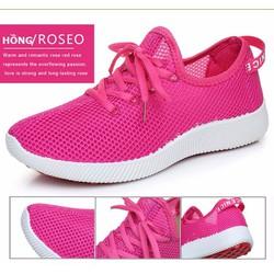 Giày Sneaker nữ dạng vải lưới siêu thoáng siêu nhẹ|Giầy đẹp giá rẻ