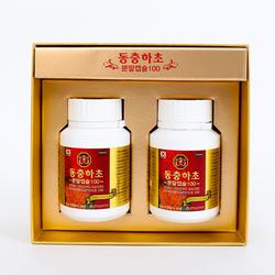 Viên đông trùng hạ thảo Hàn Quốc - 60v x 2 lọ