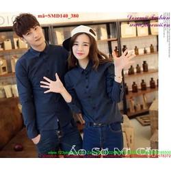 Sơ mi cặp đôi tình nhân quà tặng yêu thương SMD140