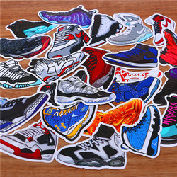 Set 20 miếng dán sticker giày sneaker - air jordan