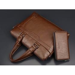 Túi xách doanh nhân tặng kèm ví