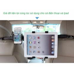 Bộ giá đỡ điện thoại và ipad tiện dụng trên oto