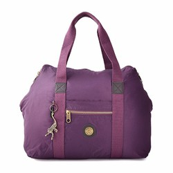 Túi du lịch kipling quai xách tiện dụng màu tím