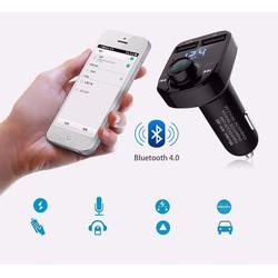 Tẩu MP3 Cho Xe Hơi Kết Nối Bluetooth Hầu Hết Các Thiết Bị Bên Ngoài