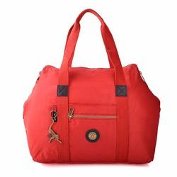 Túi du lịch kipling quai xách tiện dụng màu đỏ