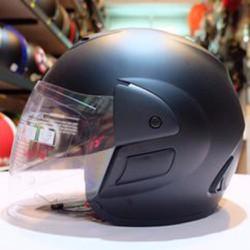 Mũ bảo hiểm Royal M01 đen nhám kính trắng