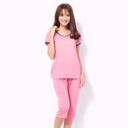 Bộ mặc nhà màu hồng