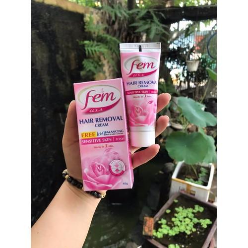 Kem tẩy lông fem hair removal cream - 11020504 , 6174618 , 15_6174618 , 45000 , Kem-tay-long-fem-hair-removal-cream-15_6174618 , sendo.vn , Kem tẩy lông fem hair removal cream