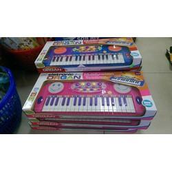 Đàn organ kèm mic đồ chơi cho bé