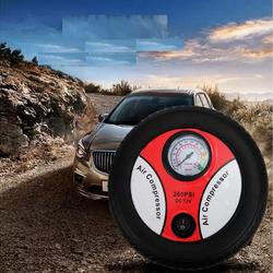 phụ kiện trang trí ô tô - Bơm lốp xe bơm lốp xe ô tô mini