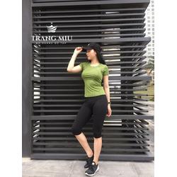 Áo tập gym cho nữ thích hợp đi chơi, đi làm, đi tập hàng thương hiệu