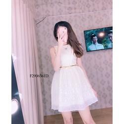 Đầm xòe ren lưới công chúa hàng thiết kế! MS: S290635 Gs: 165K