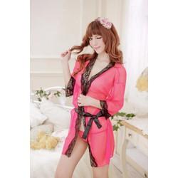 Áo Choàng Ren Sexy Siêu Mỏng - MS57