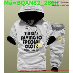 Bộ quần áo short nam phong cách thể thao năng động BQAN82