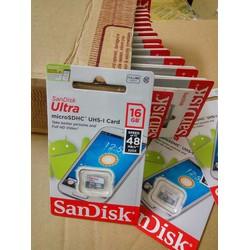 Thẻ nhớ Sandisk 16GB micro SDHC class 4