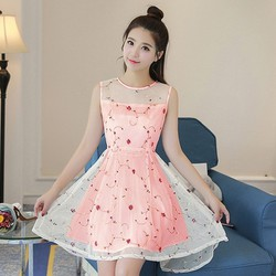 Đầm Ren Đuôi Tôm Phong Cách Amy