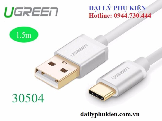 Dây sạc USB C sang USB 1.5m UGREEN 30504