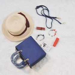 Túi xách nữ thời trang L Y N Xanh - T227