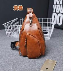 Túi đeo chéo da nam hàng Quảng Châu QC009