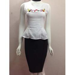 Mã 56003V - Chân váy công sở trẻ trung, sang trọng