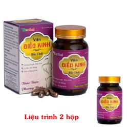 Viên Điều Kinh Bắc Thái - Giảm đau bụng kinh dữ dội - 2 hộp