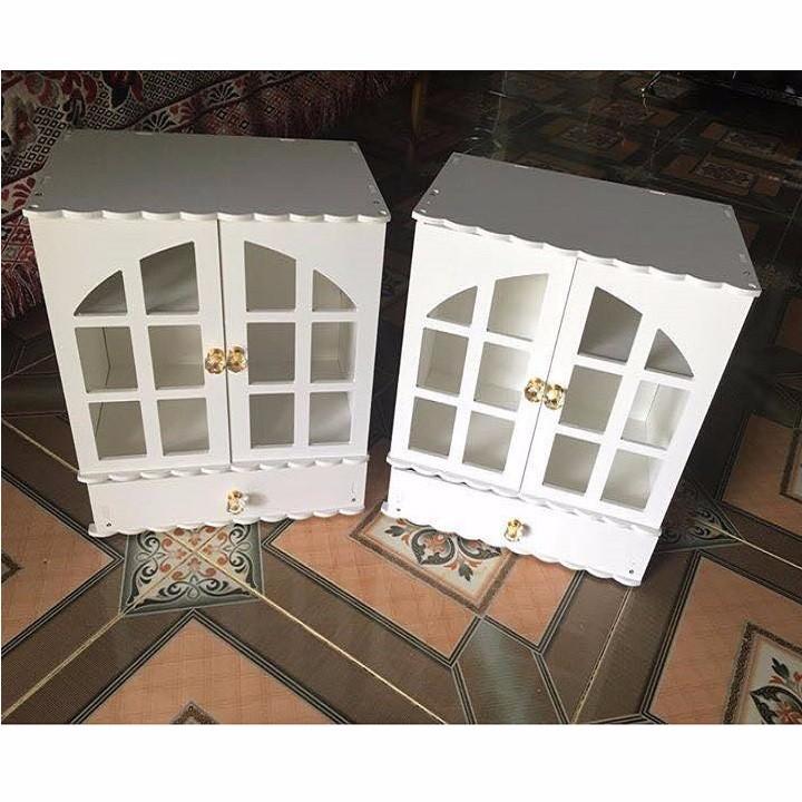 Kệ Để Đồ Đa Năng Mini Gỗ Hình Ngôi Nhà 3