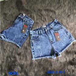Quần short jean rách size s m l