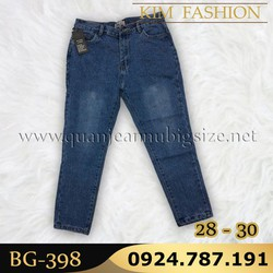 Quần Baggy size lớn 28-30