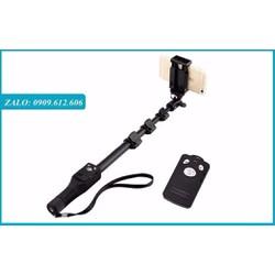 Gậy Chụp Hình YunTeng Bluetooth có remote sạc điện usb -1,25m