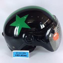 Mũ bảo hiểm  GRS A31 đen tem sao